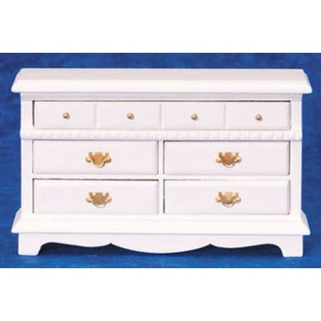 Dollhouse Dresser, White ()