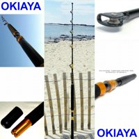 "OKIAYA COMPOSIT 160-200LB ""THE BIG NASTY"" SALTWATER BIG GAME ROLLER ROD"