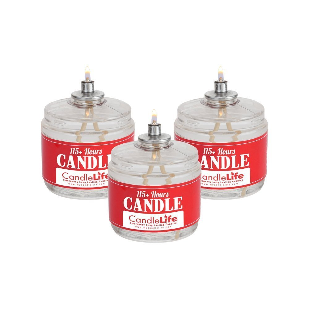 Candlelife 115-hour Long Lasting Burning Time Smoke Odor-free Emergency Survival Candles by Overstock