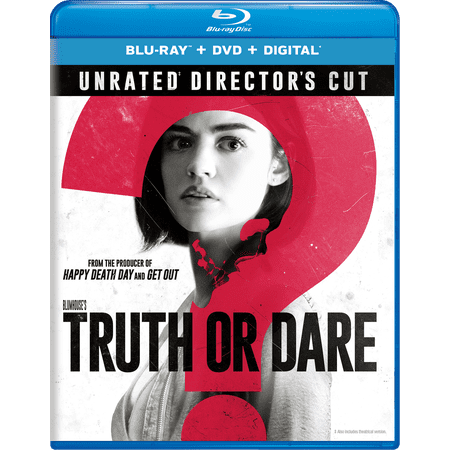 Blumhouse's Truth Or Dare (Unrated Directors Cut) (Blu-ray + DVD + Digital) - Movie Director Clapboard