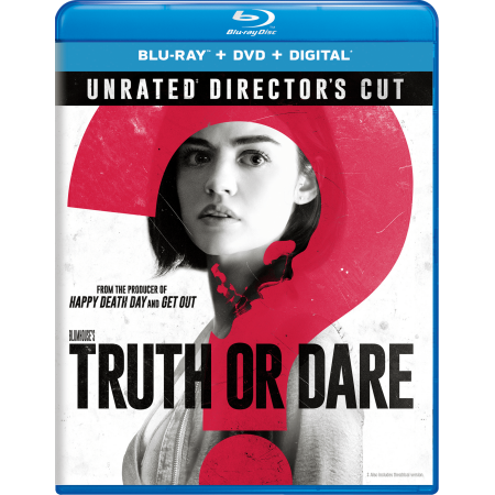 Blumhouse's Truth Or Dare (Unrated Directors Cut) (Blu-ray + DVD + Digital) - Halloween 2 Unrated Director's Cut