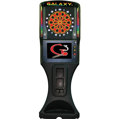 Arachnid 360 Home Electronic Dartboard with Cabinet - Galaxy 3