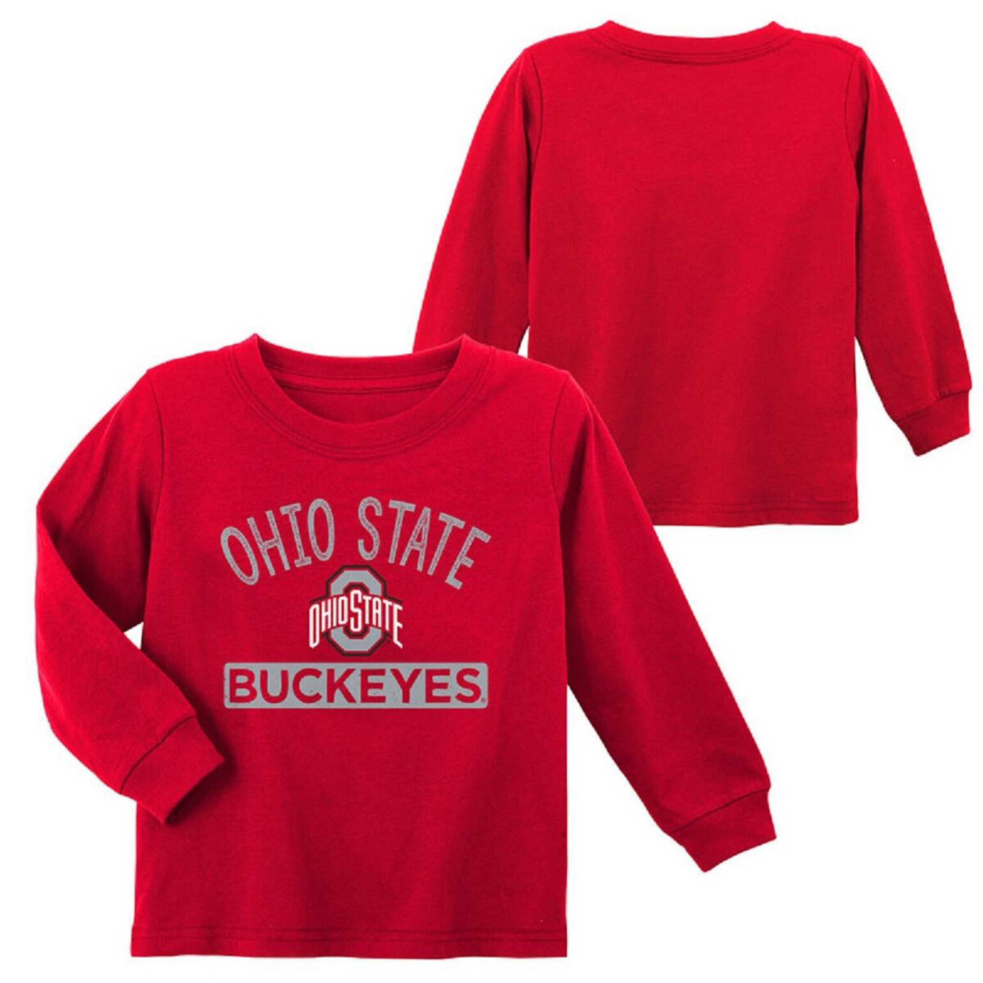 Infant Scarlet Ohio State Buckeyes Team Color Long Sleeve T-Shirt