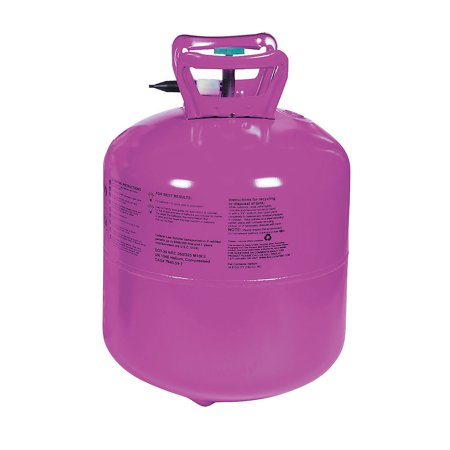 Fun Express - Large Helium Tank (14.9cuft) for Party - Party Decor - Balloons - Balloons Supplies - Party - 1 Piece - Large Helium Tanks