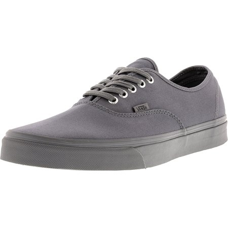 46b3e4c999 Vans - Vans Men s Authentic Primary Mono Frost Grey Ankle-High Canvas  Skateboarding Shoe - 13M - Walmart.com