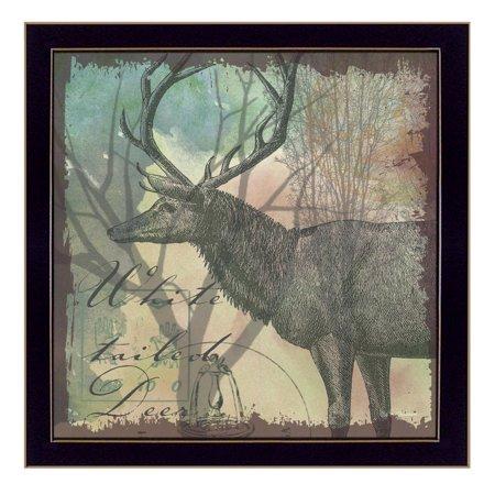 """Deer"" by Barb Tourtillotte Printed Framed Wall Art - image 2 of 2"
