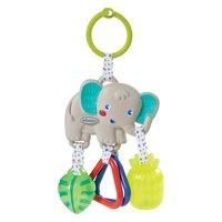 Infantino Jingle Charm Rattle - Elephant