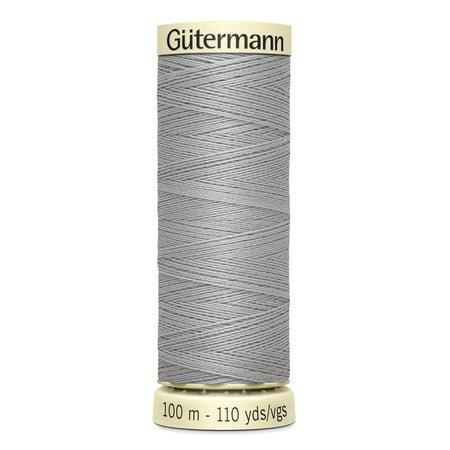 110 Yd Spool (Gutermann Sew-All Polyester Mist Grey Thread, 110 Yd. )