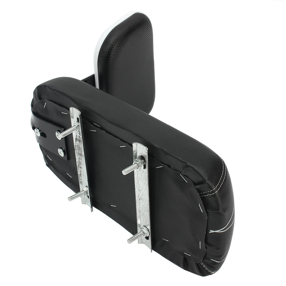 Bicycle Comfort Gel Rear Bike Seat Pad Cushion Cover Back Rest Saddle ~ Black