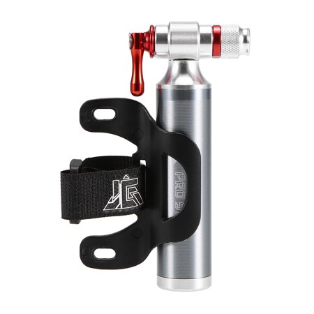 Bike Manual Inflator Bicycle Cycling CO2 Tire Inflator Portable Presta Schrader Twin Valve Emergency Inflator No Cartridge Included (Co2 Tire Inflator)