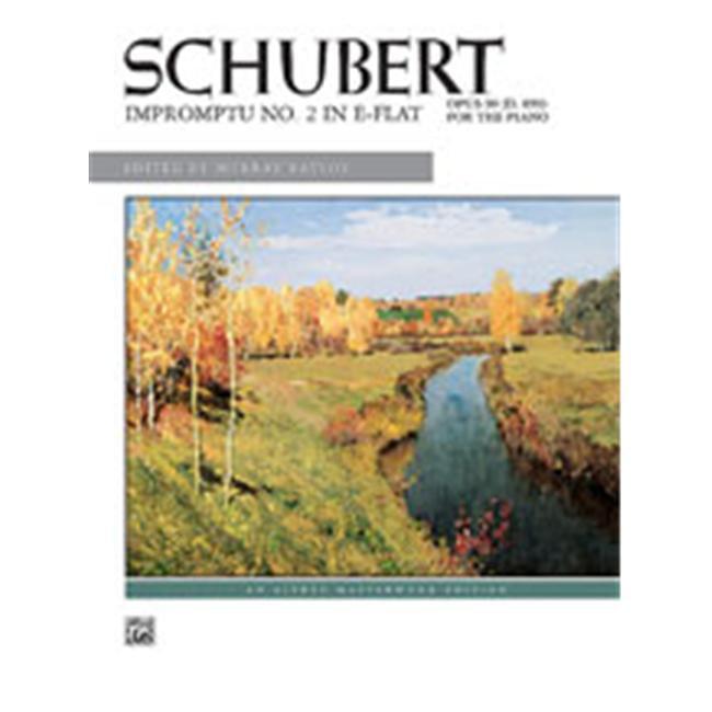 Alfred 00-6333 Impromptu- Op. 90- No. 2 Music Book by Alfred