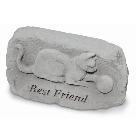 Best Friend Pet Memorial Stone - Cat