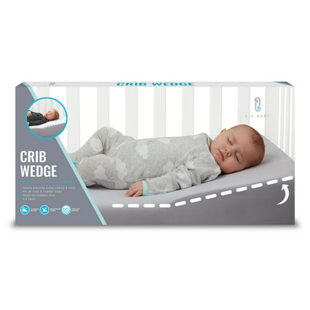 La Baby Safe Lift Universal Crib Wedge For Baby Mattress