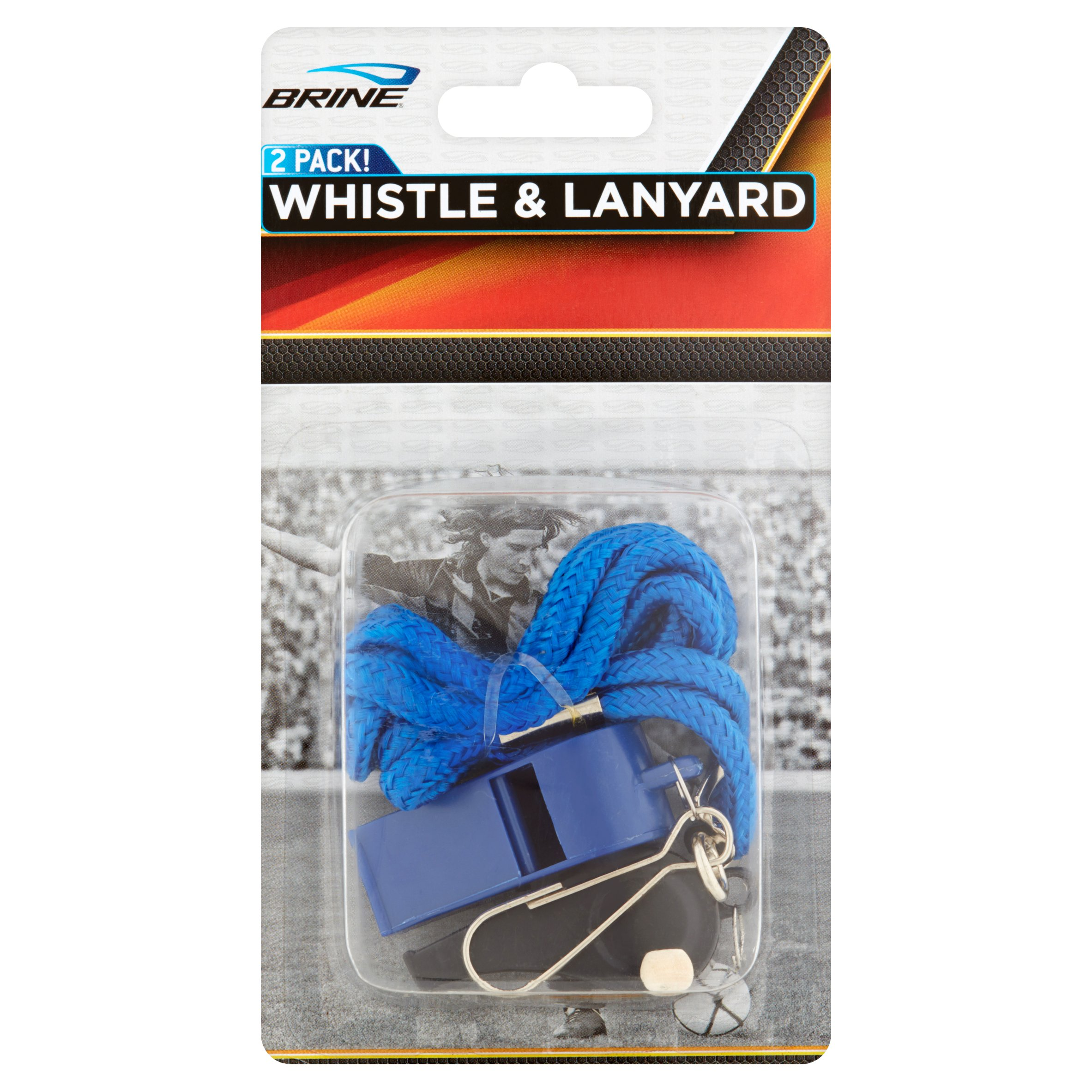 Brine Whistle & Lanyard, 2 Pack