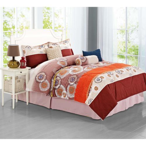 Journee Home 'Fraga' 7-piece Comforter Set Queen