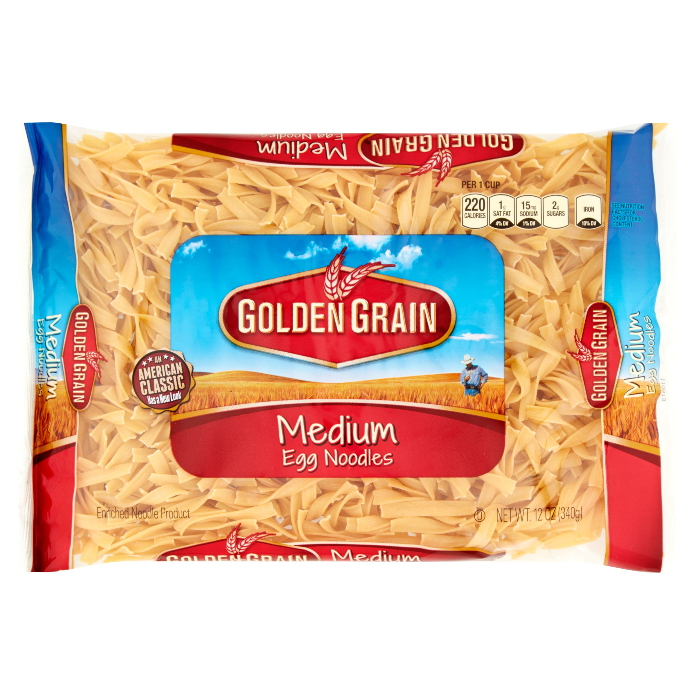 Golden Grain Medium Egg Noodles 12 oz