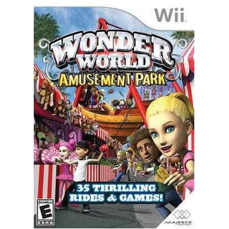 Wonderworld Amusement Park Nintendo Wii