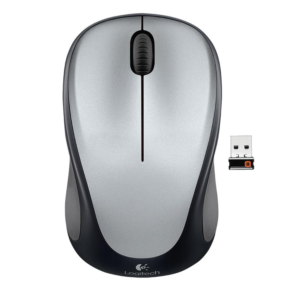 Refurbished Logitech M317 24ghz Wireless 3 Button Usb Optical Mouse Wirelesss M 185 W Nano Receiver
