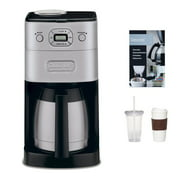 Cuisinart DGB-650BC Grind & Brew Thermal 10-Cup Automatic Coffeemaker Refurbished Bundle