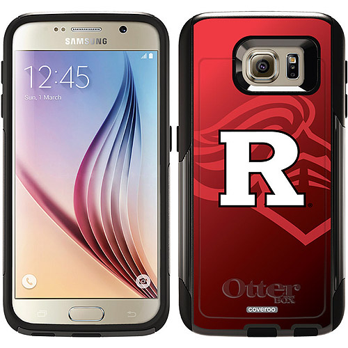 Rutgers Watermark Design on OtterBox Commuter Series Case for Samsung Galaxy S6