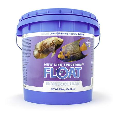 New Life Spectrum Float Extra Large Fish Food Pellets, 1.6 kg
