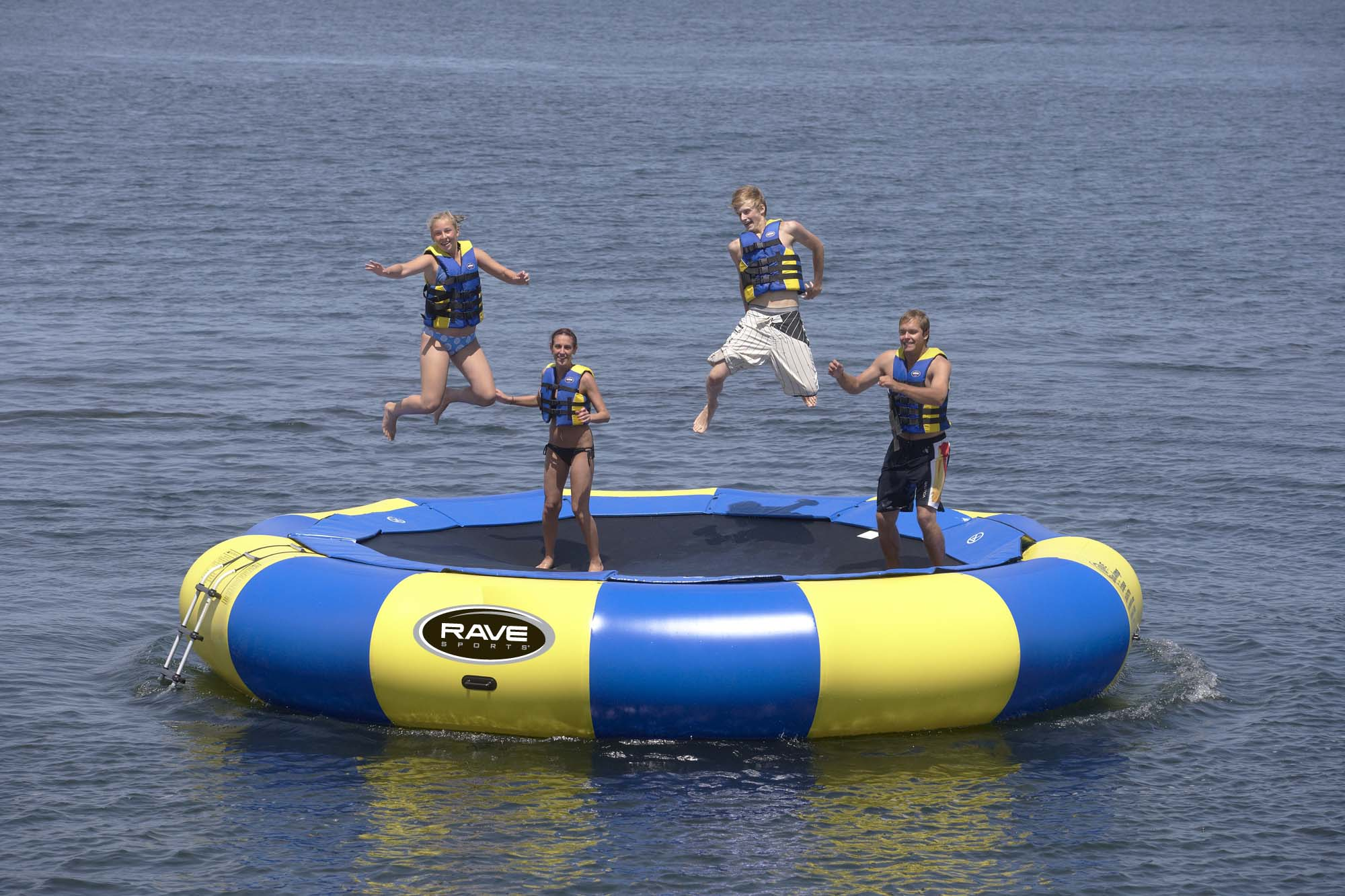 Aqua Jump 200 Eclipse Water Trampoline by Rave Sports