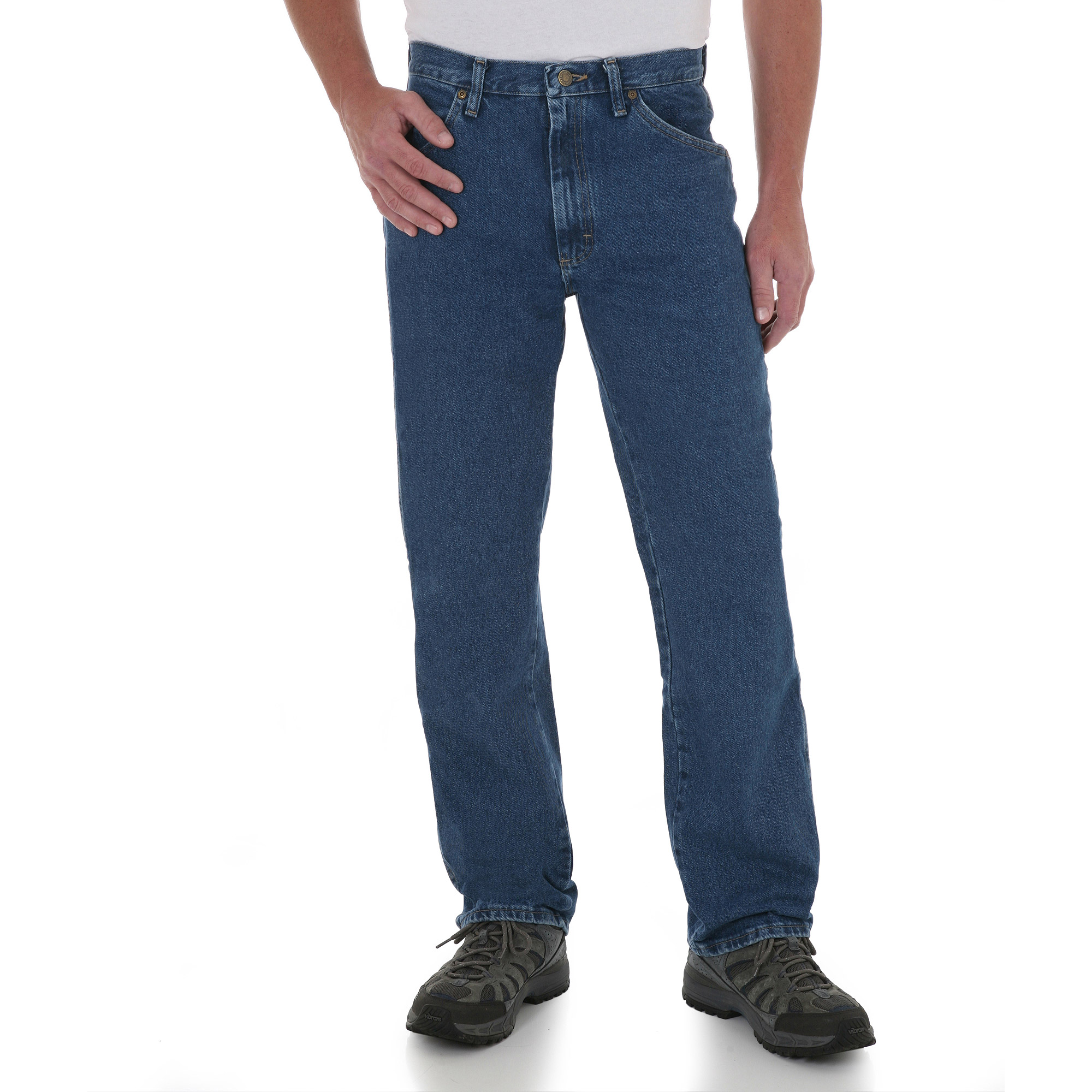 Wrangler - Tall Men's Regular Fit Jeans - Walmart.com