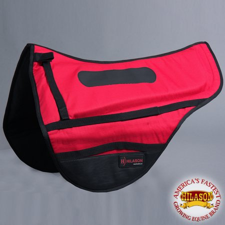 Cta137 Hilason Endurance Saddle Pad - Red