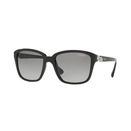 Vogue VO5093SB Sunglasses W44/11-54 - Black Frame, Gray (Vogue Sunglasses Men)