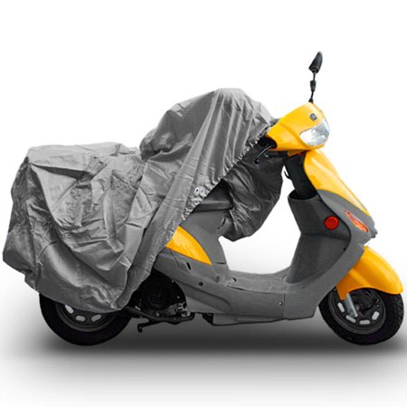 (SUPERIOR 4 LAYER MATERIAL WEATHERPROOF SCOOTER MOPED MOTORCYCLE COVER COVERS : FITS UP TO LENGTH 80