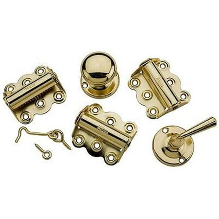 Vintage Brass Door - Brass Screen Door Kit for V1771