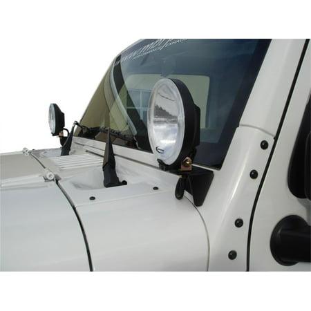MBRP Exhaust 130719 Windshield Light Bracket Fits 07-18 Wrangler (JK) - image 2 de 2