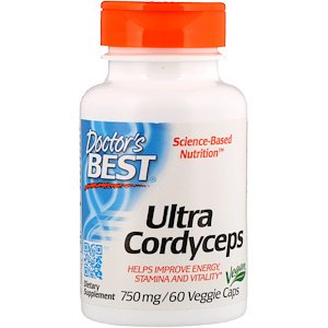 Doctor's Best, Ultra Cordyceps, 750 mg, 60 Veggie Caps (Pack of (Best Pa Programs In Us)