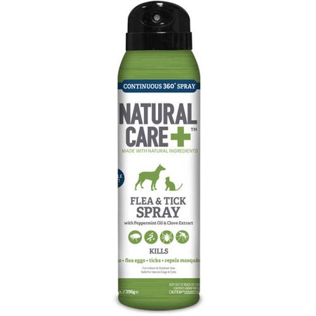 Natural Care Flea And Tick Spray 14 Oz Walmart Com