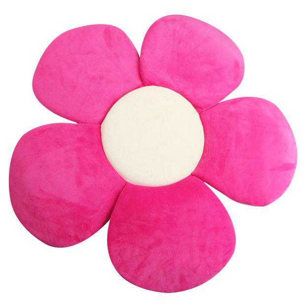 Baby Bath Tub Toddler Safety Foldable Soft Flower Petal Bathtub Pad Support