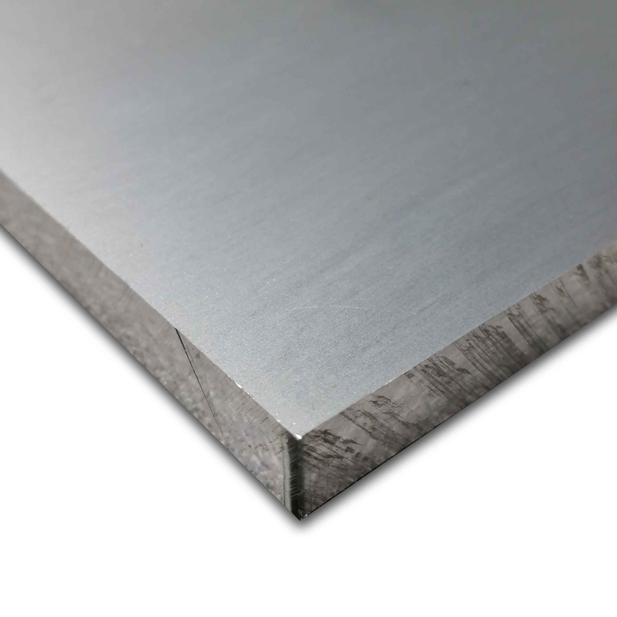 7050-T7651 Aluminum Plate, Thickness: 0.875 (7/8 inch), Width: 20 inches, Length: 24 inches