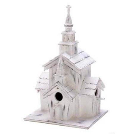 100 Little White Chapel Birdhouse - image 1 de 1