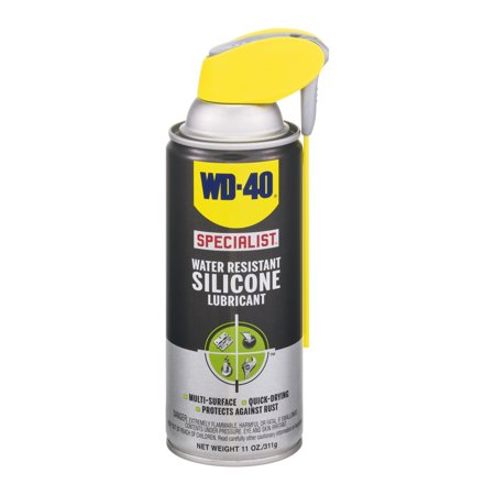 wd 40 specialist water resistant silicone lubricant 11 0 oz. Black Bedroom Furniture Sets. Home Design Ideas