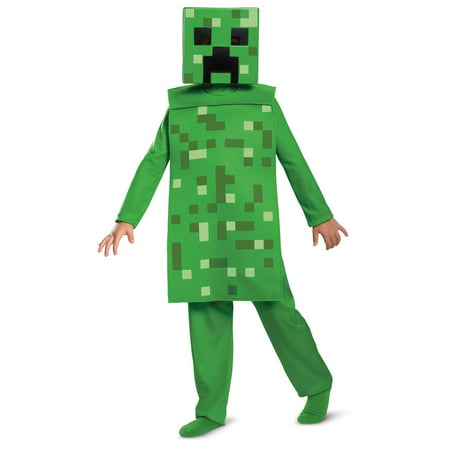 Halloween Creeper Jumpsuit Classic Child Costume