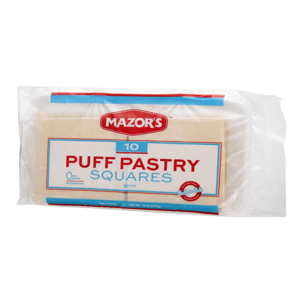 Mazors Puff Pastry Squares 10 Ct Walmartcom