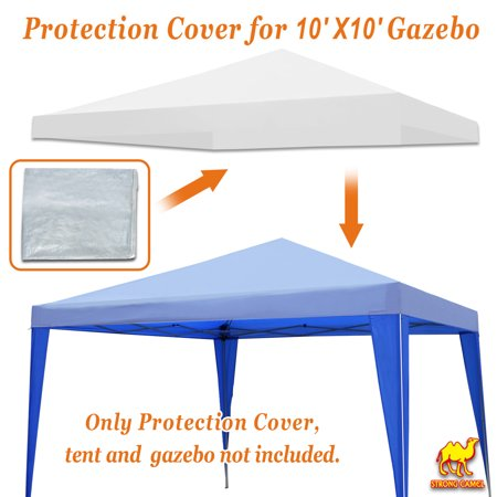 - STRONG CAMEL Outdoor Protective Cover for 10x10' Canopy &Pop Up Party Tent Waterproof Protect
