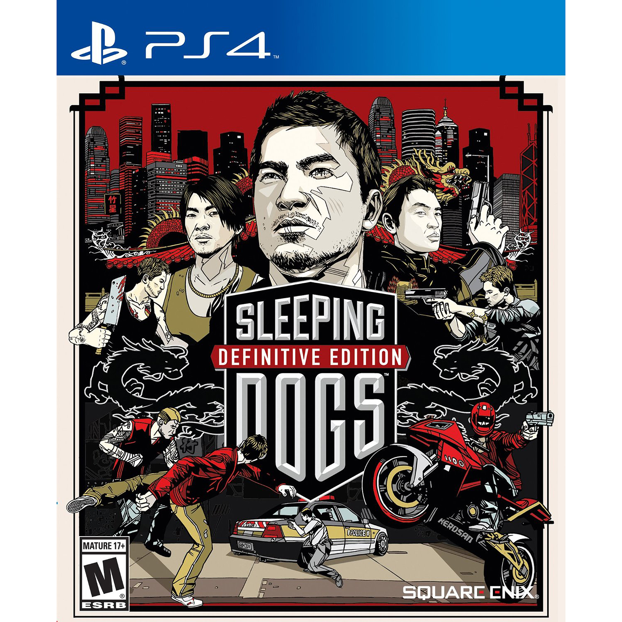 Sleeping Dogs Definitive Edition (PS4) Square Enix