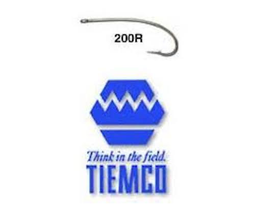 qty 25 Tiemco nymph 200R size  10