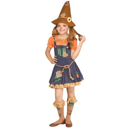 Sweet Scarecrow Girl Child Costume (Kids Scarecrow Costume)