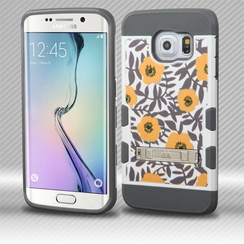 Samsung Galaxy S6 Edge MyBat TUFF Trooper Hybrid Protector Cover with Stand