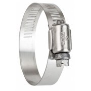 ZORO SELECT 5272070 Hose Clamp,3 to 5 In,SAE 72,SS,PK10