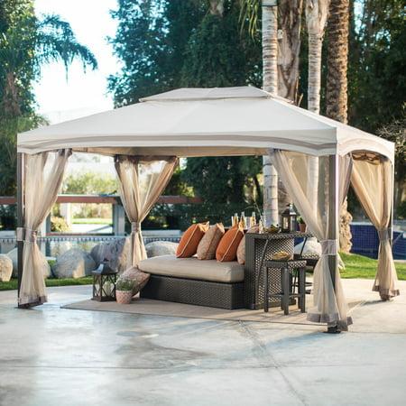 Belham Living Catina 13 x 10 ft. Cabin Style Garden House Canopy -