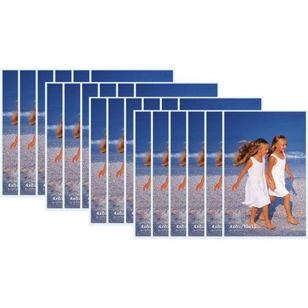 Snap 4x6 Acrylic Velcro/Magnetic Frame, Set of 24 - Walmart.com