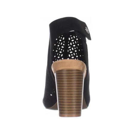 GB35 Joiseyy Block Heel Dress Sandals - Black - image 4 de 6