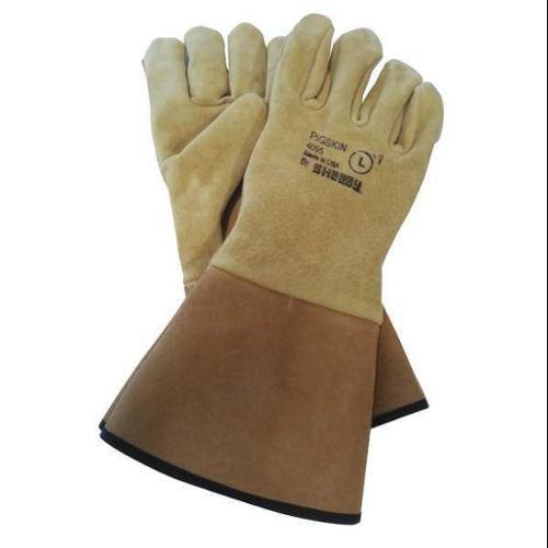 SHELBY Welding Gloves,M,Flame Retardant,PR, 4095M